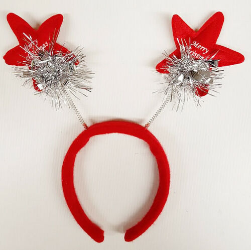 Christmas Party Headband Head Bopper Novelty Xmas Head Wear Fancy Dress Gift
