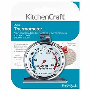 KITCHENCRAFT-Stainless-Steel-Oven-Thermometer-Baking-Roasting-Cake-Making