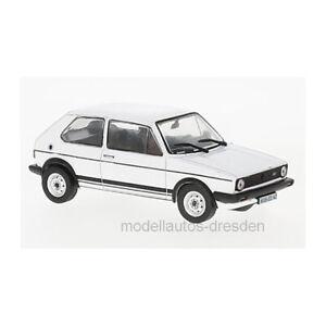 Special-C-ABLTA003-VW-Golf-I-GTI-weiss-Massstab-1-43-Modellauto-NEU