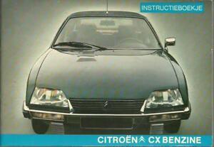 CITROEN-CX-Benzine-1979-Instructieboekje-Handboek-Handbuch-BA