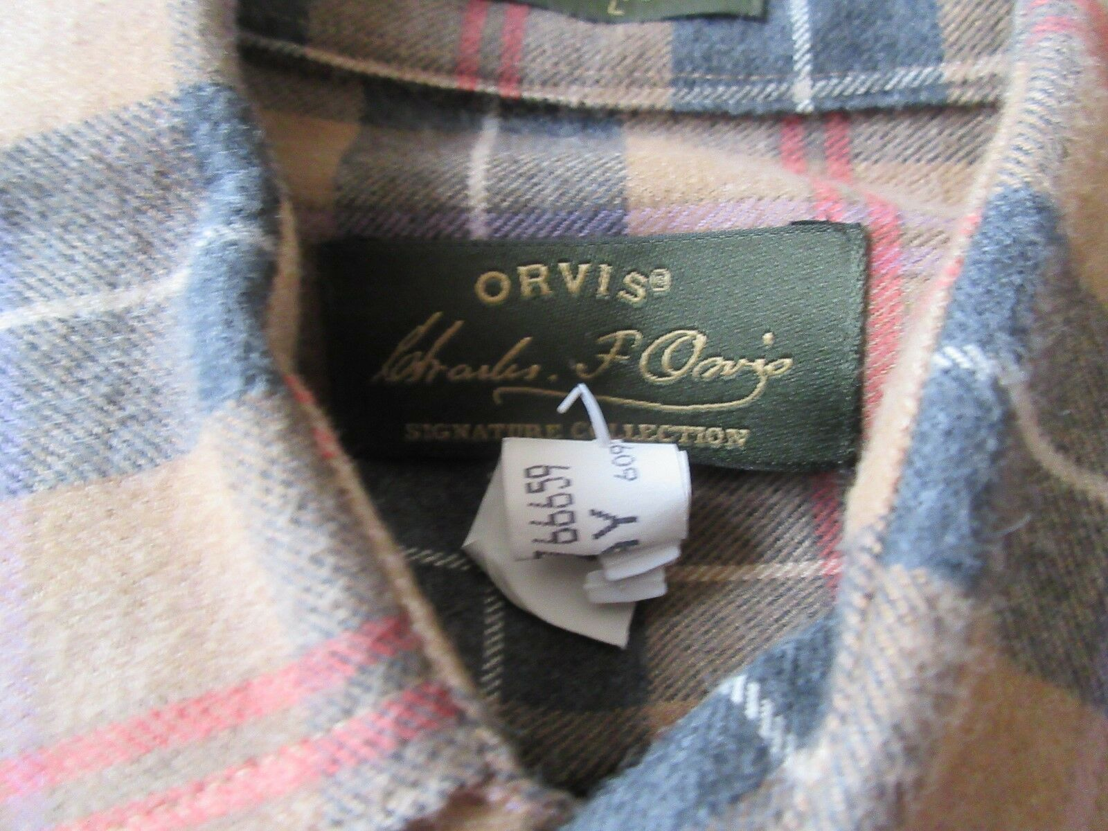 Orvis , Size L , Signature Collection , Long Sleeve Shi