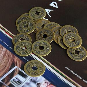 10pcs-Feng-Shui-Monedas-1-00-034-2-5cm-Suerte-moneda-china-Conjunto-de-coleccion