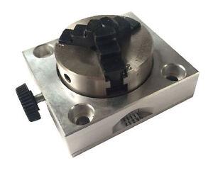 Proxxon Dividing Head Chuck For Kt70 Mf70 Tbm220 24264
