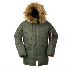 Cold-Weather-N-3B-Military-Slim-Fit-Parka-Jacket-Long-Insulated-N3B-Winter-Coat