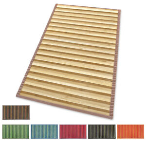 Tappeto-stuoia-bamboo-legno-pedana-cucina-degrade-passatoia-bambu-antiscivolo