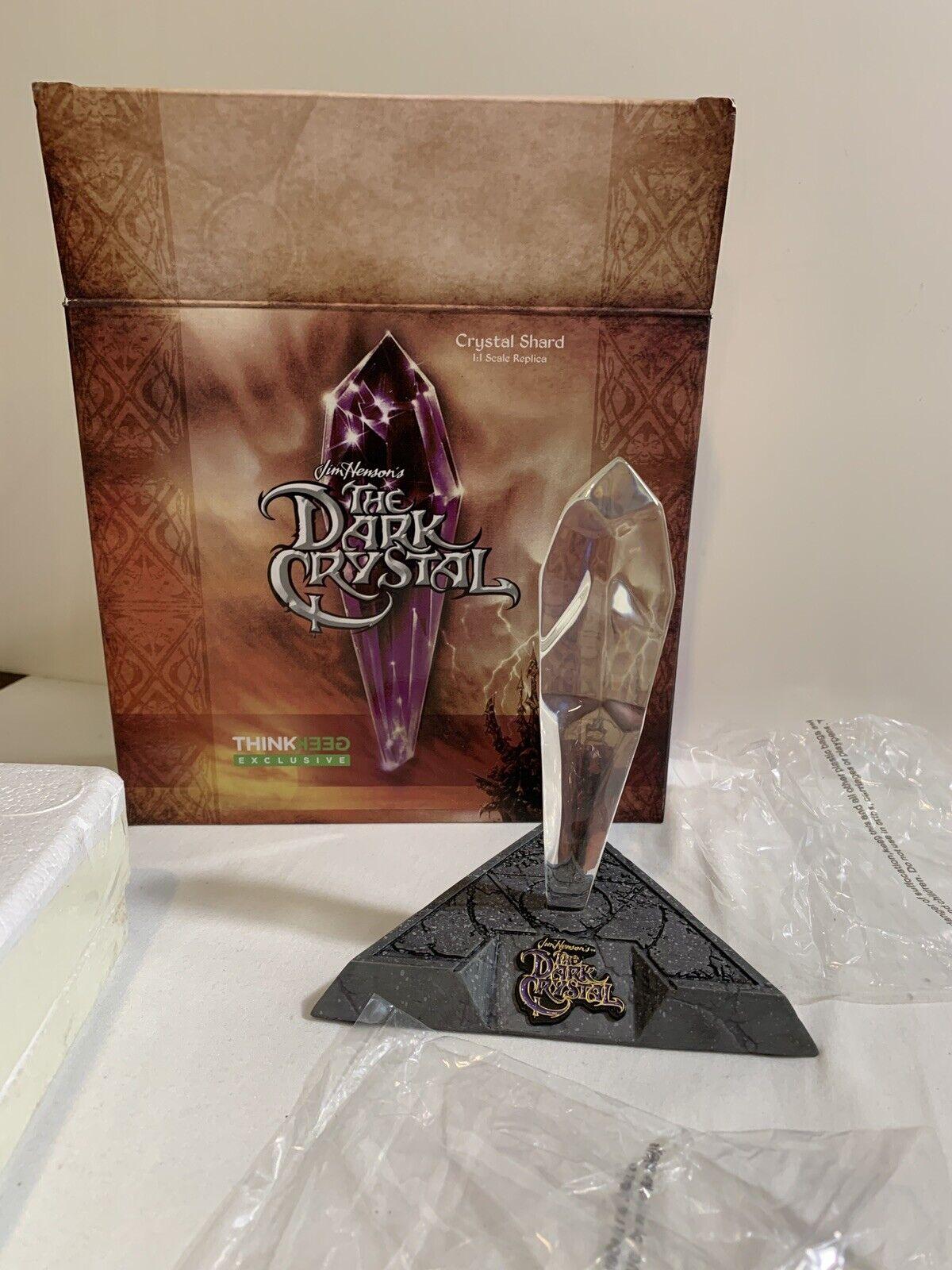 """The Dark Crystal Shard Replica 8.5"""" LED Skeksis Castle Statue Thinkgeek Figure"""
