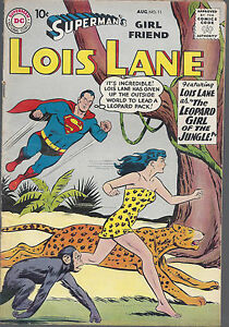 Superman's Girlfriend Lois Lane #11 VG Silver Age August 1959