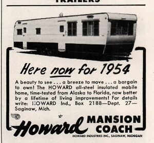 1954 A AD HOWARD MANSION COACH MOBILE HOME TRAVEL | eBay  Mobile Home on 1955 mobile home, 1957 mobile home, 1958 mobile home, 1952 mobile home, 1950 mobile home, 1956 mobile home,