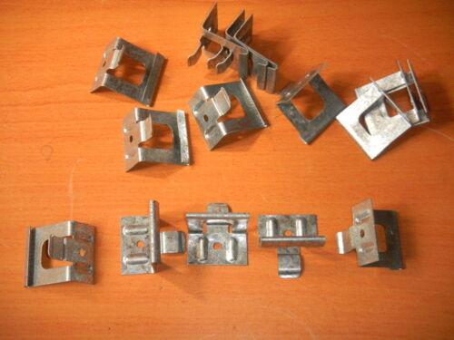 "10 Englert R-CLIP SNAP LOCK Clip 1 ¾"" Universal Regular Galvanized Metal  Roof"
