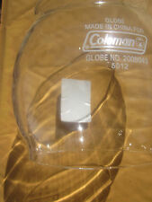 COLEMAN LANTERN PART. NEW GLASS GLOBE FOR #200A, 242, 243,247, 201, 202, 5101.