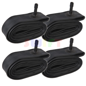 """4 x 26/"""" inch Inner Bike Tube 26 x 1.75-2.125 Bicycle Rubber Tire Interior BMX"""