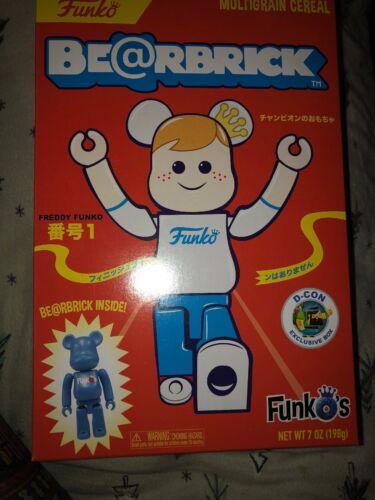 Funko BEARBRICK CEREAL DCON DESIGNER CON EXCLUSIVE LE 3000 D-Con Be@rbrick