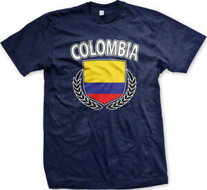 Image is loading Colombia-Colombian-Flag-Bandera-Soccer-Shield-Futbol-New- a66f0cb5f