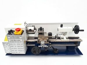 home made mini lathe machine 3jaw chuck
