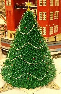 Albero Di Natale Lego.Istruzioni Solo Lego Albero Di Natale Villaggio Invernale 10173 10222 10229 40338 Ebay