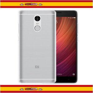 Funda-TPU-100-de-Gel-Silicona-Transparente-Para-Xiaomi-Redmi-Note-4