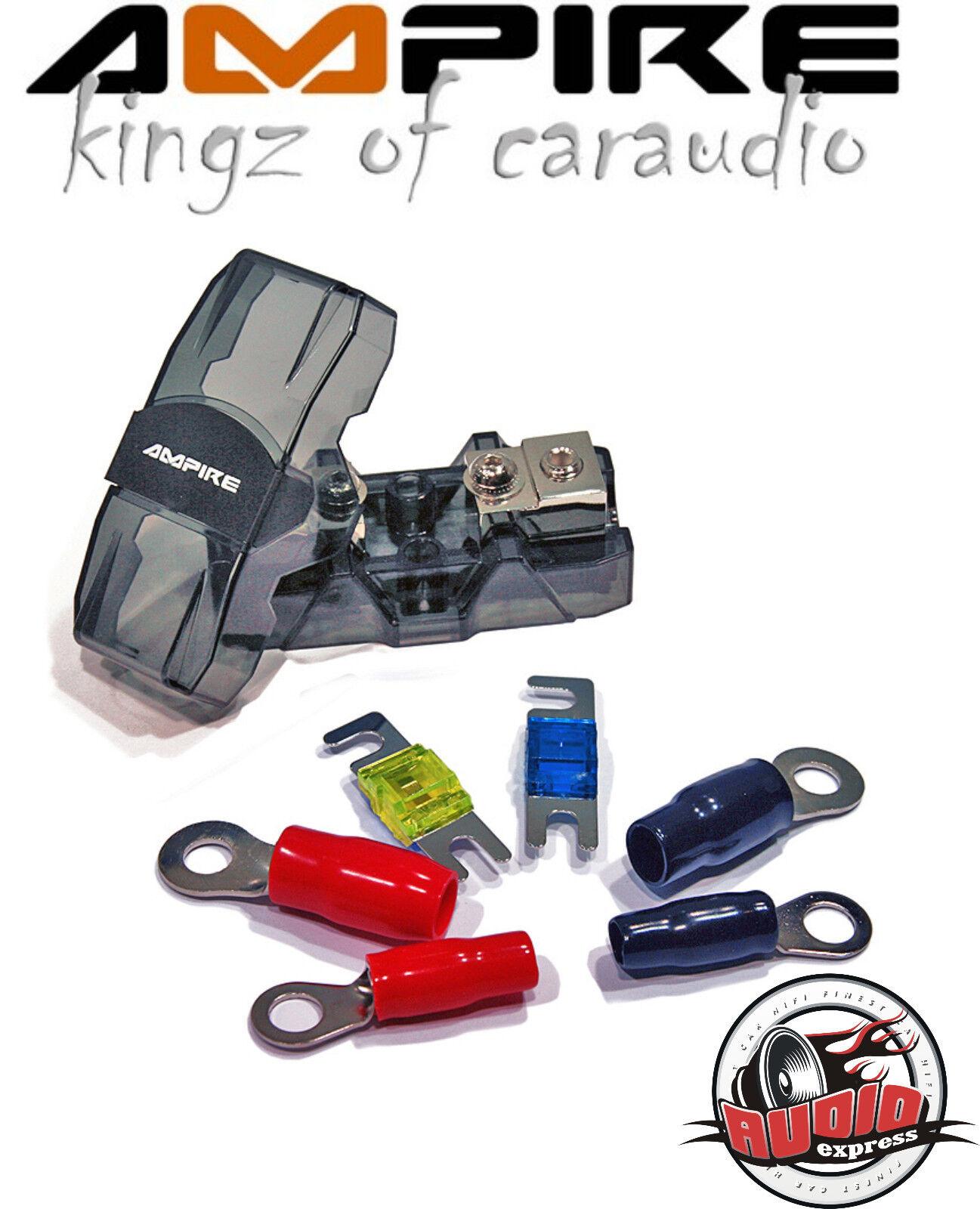 Ground Zero Mini ANL Sicherungshalter Car Hifi ANH 1-25 mm² inkl 150a Sicherung
