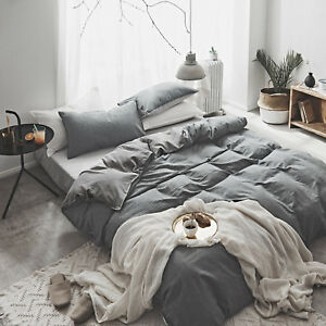 Washed-Cotton-Comfort-Ultra-Soft-Twin-Queen-King-Duvet-Cover-Set-for-Comforter
