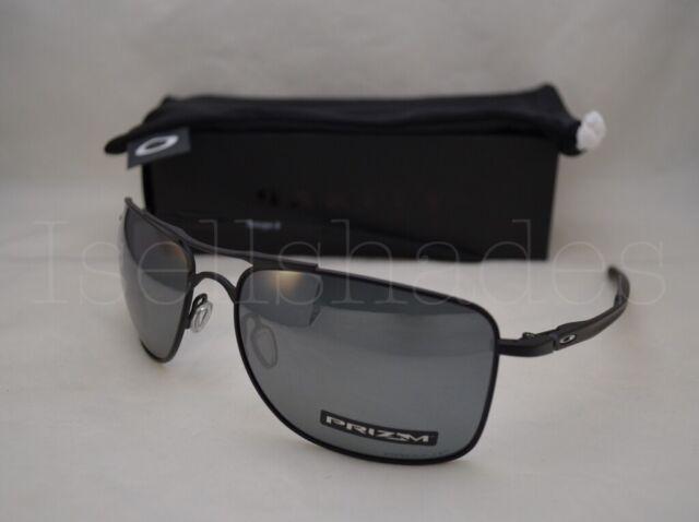Oakley Gauge 8 >> Sunglasses Oakley Gauge 8 4124 02 62 Matte Black Prizm Polarized For