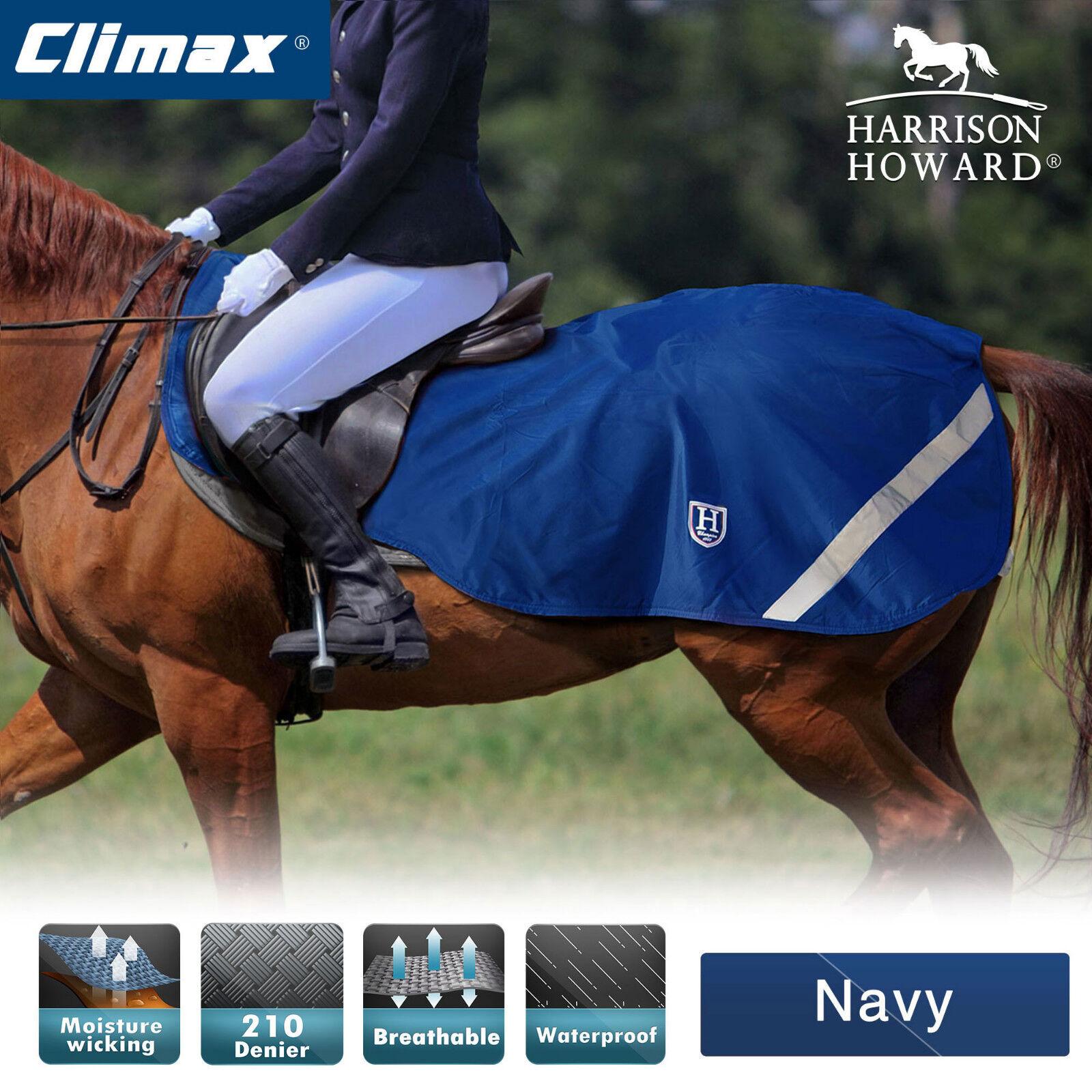 Harrison Howard Climax Exercise sheet Waterproof Hi-Vis Fleece Navy