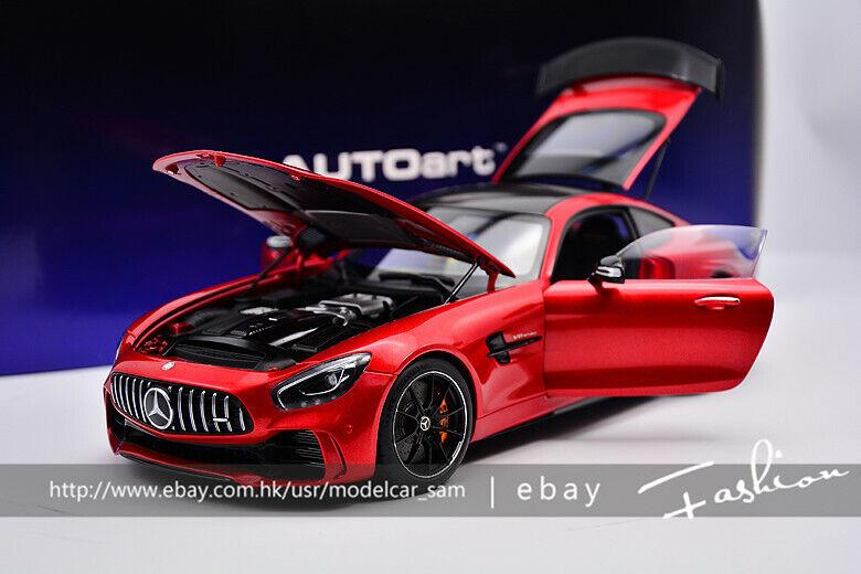 AUTOart 1 18 Mercedes-Benz AMG GTR 2017 rosso