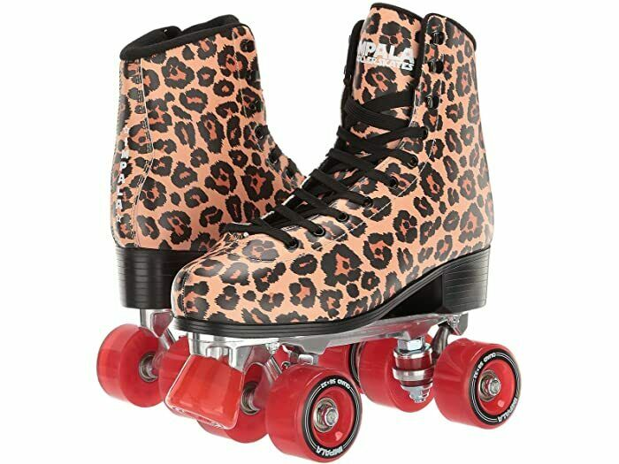Fedex 2 day Impala Rollerskates Rose Gold Quad Roller Skates Size 7,8,9,10,11