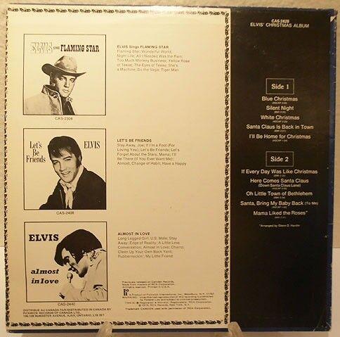 LP, Elvis Presley, Christmas Album