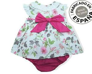Image is loading Baby-Girls-Spanish-3-Piece-Dress-Knickers-amp- a4dd8f1e2b5
