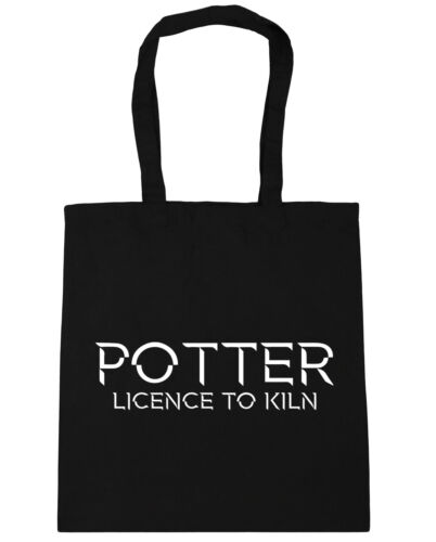 10 litres Potter Licence to Kiln Tote Shopping Gym Beach Bag 42cm x38cm