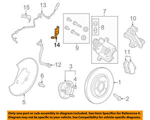 image is loading lincoln-ford-oem-mks-abs-anti-lock-brakes-
