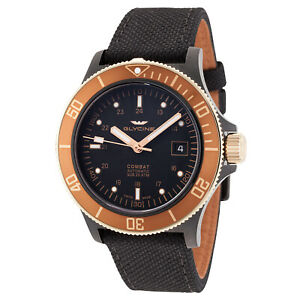 Glycine Men's 3908.399.C6.TBA9 Combat Sub Automatic 42mm 'Golden Eye' - GL0093