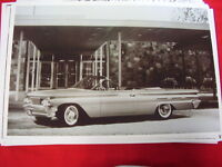 1960 Pontiac Bonneville Convertible Big 11 X 17 Photo Picture