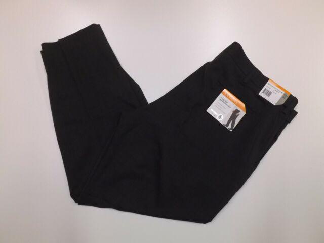 No Iron Stretch Performance $75 NWT Men's Savane Dark Gray 40 X 32 Dress Pants