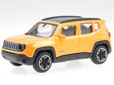 Jeep Renegade SUV Orange 2018 Toy Fair Spielwarenmesse Ab 2014 1//43 Bburago Mode