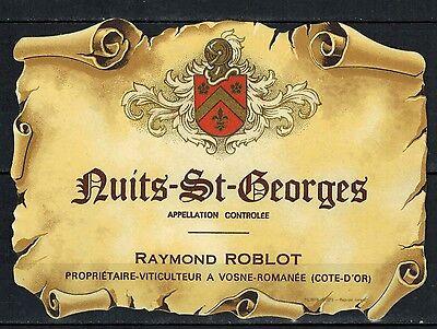 Bourgogne Moissenet-Brintet- Réf.n°245 Etiquette de Vin Chambertin Nuits