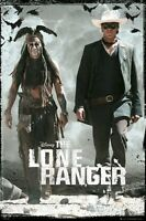 The Lone Ranger Movie Poster Duo Walking 24x36 Johnny Depp Armie Hammer