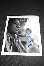 GASTON KABORE signed Autogramm auf 20x25 cm Bild InPerson LOOK