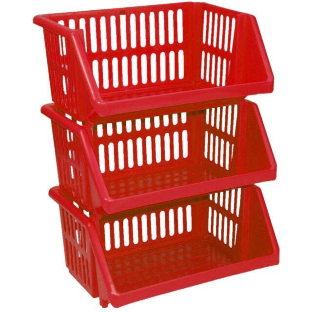 Colour Storage Rack Stand Baskets
