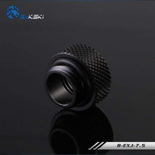 Bykski B-EXJ-7.5 7.5mm Extend Connector Fitting Joint Black