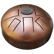 HAPI Mini Steel Tongue Drum in D Akebono Hand Metal Slit Hank Tank Handpan Drum