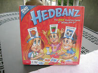 Hedbanz 2nd Editionthe Quick Question Game Of what Am I?new & Sealed