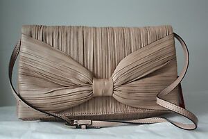 Valentino-Caravani-handbag-Purse-evening-beige-nude-old-rose-NEW