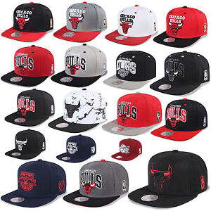 Mitchell   Ness and Snapback Cap Chicago Bulls La Kings Nets Beanie ... 3d9a811b4d3