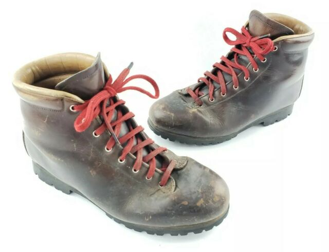52735102307 Vintage Pivetta G5 Classic Hiking Mountaineering Boots Men's Size 8.5 A -  Narrow