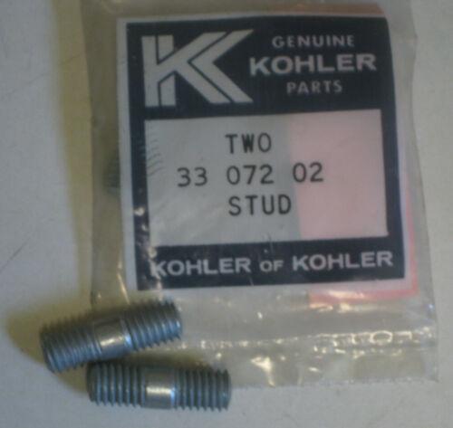 KOHLER K295-1 K309-1 K335-1 SINGLE CYLINDER EXHAUST STUDS NEW OLD STOCK QTY OF 2