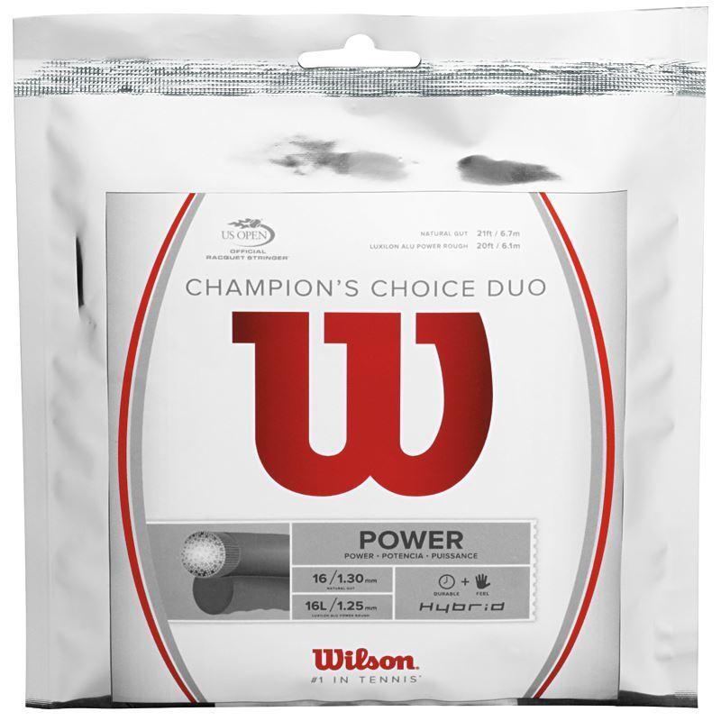 Wilson Champions Choice Duo 1.25 1.30mm 12m Pkt