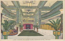 Mezzanine  Floor, Morrison Hotel, Chicago, IL,  Pre-Linen  Postcard