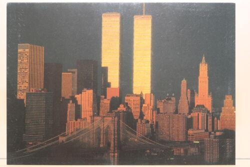 Kunst-Postkarte The World Trade Center,1980,Sunrise