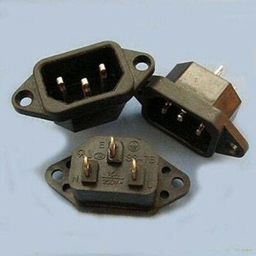 Alimentation 5x IEC connecteur power jack chassis mount 3PAC