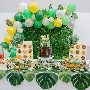 Jungle-Safari-Animal-Anniversaire-Wild-Party-Supplies-vaisselle-Ballon-Decoration